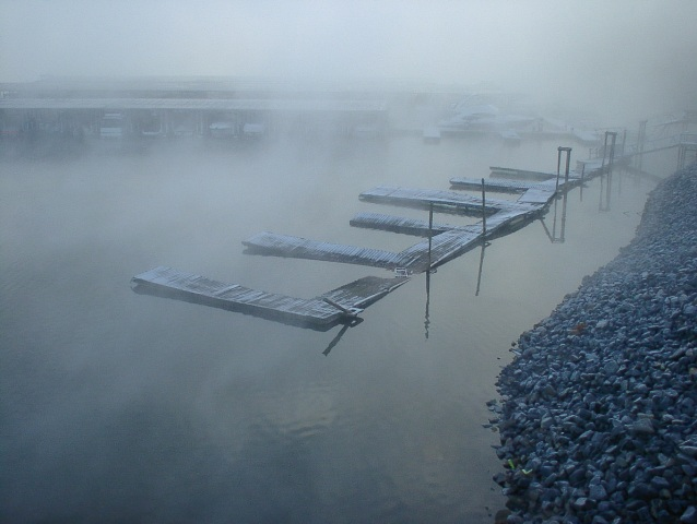 I took this on Boxing Day morning - 2007 on the shores of the lake in our town - Lake Wylie, SC